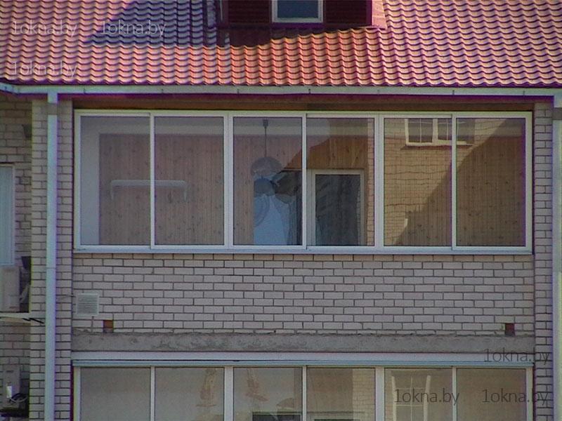 """Компания """"фабрика балконов"""" - фото - наружная отделка балкон."""