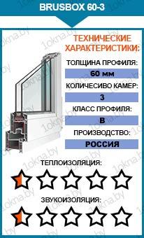 Евроокна Brusbox 60